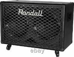 Randall Rg212 100-watt 2x12 Guitar Speaker Cabinet Avec Roulettes