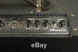 Rare 1960 Ampeg Tube 720-sn Amplificateur Haut-parleurs 2x12 Jensen