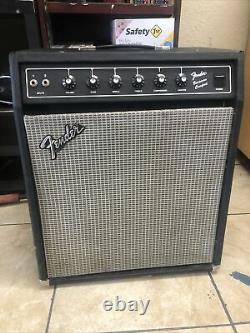 Rare Vintage Fender Bassman Compact Amp Guitar Speaker États-unis