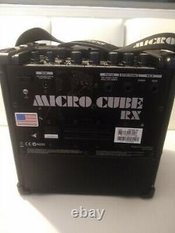 Roland Cube Rx Ampli Guitare 4 Haut-parleurs Effets Machine Drum Portable Batterie