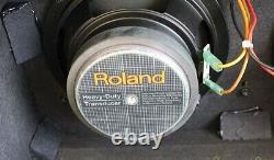 Roland Jc-22 Jazz Chorus Guitare Ampli Combo Haut-parleurs Très Bon