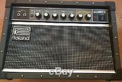 Roland Jc22 Jazz Chorus Guitar Amp Amplifier Combo Avec 8 Pouces Haut-parleurs