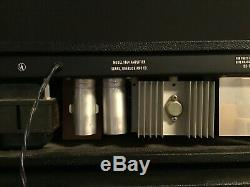 Silvertone 1646 Et Chef Du Cabinet Avec Haut-parleurs Jensen C12q Amplificateur De Guitare