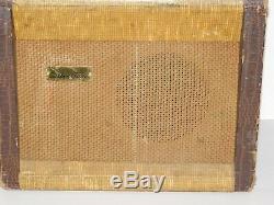 Silvertone De Vtg 1950 Danelectro Guitare 1331 Tube Combo Amp 1x8 Président Tweed