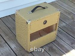 Subz 1x10 Extension Guitare Standard Speaker Cabinet Noir Avec Silver Open