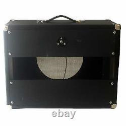 Subz 1x12 Extension Guitar Speaker Cabinet Black Tolex Silver Grill Ouvert