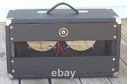 Subz 2x8 Extension Guitar Speaker Noir Cabinet Avec Open Blé