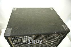 Swr Triad 3-way Bass Speaker System Cabinet 4-ohm 400w 1/4 In/out Jacks Speakon