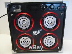 Tiger Power Tour Musique Guitare Stéréo Lecteur Mp3 Amplificateur Haut-parleurs Led Clignotants