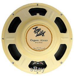 Tone Tubby 12 Cône Alnico Chanvre Organique Guitare 8 Ohms Haut-parleur Neuf Avec La Garantie