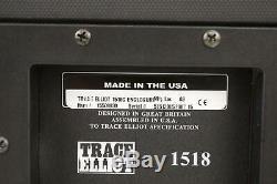 Trace Elliot 1518c Enceinte 15 500rms 8ohm Parleurs Bass Cab Cabinet # 36991