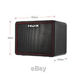 Ukulélé Amp Usb 3w Et Usb D1o3 De Haut-parleurs D'amplificateur De Guitare Électrique Portatif Mini