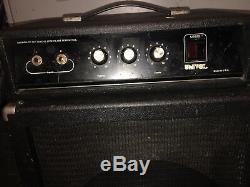 Univox Ub252 Amplificateur De Tête Et Ampli Haut-parleur 2 Guitare