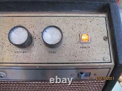 Valco 1960's V629061 Tube Guitar Amp Jensen 10 Chants Du Haut-parleur Comme Un Princeton