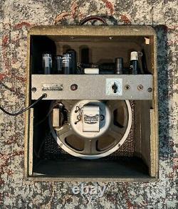 Valco Des Années 1940 / National / Sears Roebuck Amplificateur De Tube D'algues! 12 Jensen Président