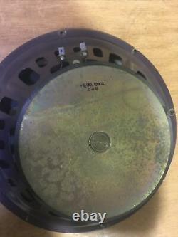 Vieille Paire De Haut-parleurs Px/30 1200x Z=8 Irel Italie Vox Ac30 Guitar Amp 60s 70s