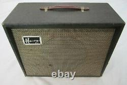 Vintage 1961 Harmony 310 Unité Externe Reverb W Jensen 10 Président