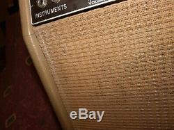 Vintage 1962 Fender Tube Brownface Princeton Amplificateur De Guitare Haut-parleur Avec 12
