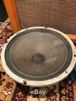 Vintage 1964 Celestion T530 Vox'blues 'ac30 Haut-parleurs Pilotes Pièces De Rechange Ou Réparations