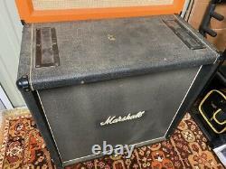 Vintage 1970s Marshall 2x12 Vertical Mckenzie Speakers Modèle 2196 Cabinet Signé