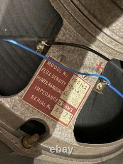 Vintage 1971 Hiwatt Se4122 4×12 Amplificateur De Guitare Haut-parleur Cabinet Avec Fane 12242