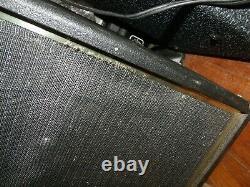 Vintage 1973 Alamo 2566 Amplificateur De Tube De Basse/guitare Fury 15 Haut-parleur Vg+