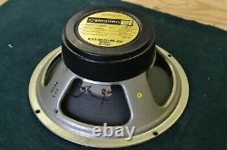 Vintage 1976 Celestion G12h T1234 Guitar Speaker Driver Black Back