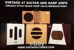 Vintage 47 Ampères 6 X 9 Ovale Haut-parleurs Pour Valco, Supro, Amplis Gretsch Vintage