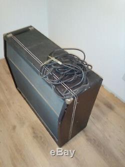 Vintage Amp Amplis Guitare Haut-parleur Boîte Goodmans Puissance Audiom 81 60 Angleterre