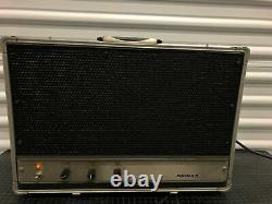 Vintage Ampex Aa-620 Hi Fi Haut-parleurs Alimentés Power Amp Suitcase Guitar Amp