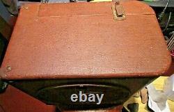 Vintage Ampro 16641 12 Po. Guitar Amp Haut-parleur Aveccabinet 1956