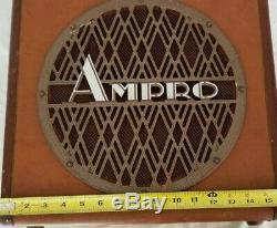 Vintage Ampro 16641 12. Président Withcabinet 1956. Vintage Guitar Amp Haut-parleur