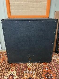 Vintage Années 1970 Marshall 2x12 Vertical Mckenzie Speakers Model 2196 Cabinet