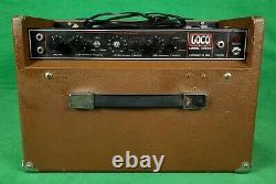 Vintage Aria Loco Micro Bass Amp, 15 Haut-parleur Modèle 4381b (made In Japan)