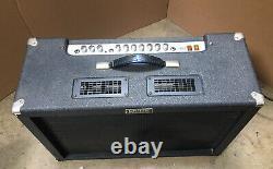 Vintage Crate Club Vc-2110r Avec 2xe12 16 Ohms Haut-parleur 2 Canal Tube Amp