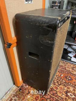Vintage Des Années 1960 Selmer 50 Goliath 1x18 Guitar Bass Speaker Cabinet Celestion G18c