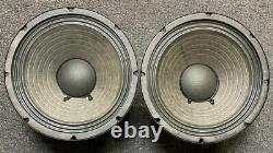 Vintage Eminence Music Man 10 8ohm Alnico Haut-parleurs