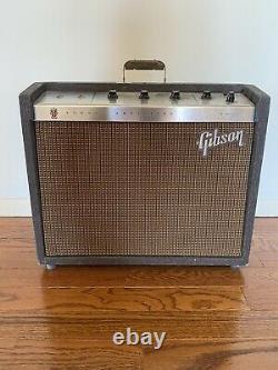 Vintage Gibson Scout Amp Ga-17rvt/10 Haut-parleur/réverb Original, Tremelo, Conférencier