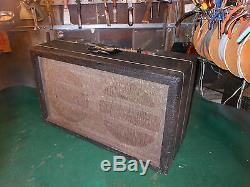 Vintage Gregory Guitare Basse XXX Tube Amp Conversion 2 Haut-parleurs X10