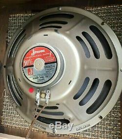 Vintage Jensen C12r Haut-parleurs 2 X 12 Cabinet De Cabine D'extension Pour Ampli Guitare Électrique