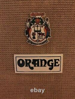 Vintage Orange 4x12 Enceinte 1972 Celestion G12h