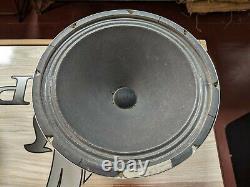 Vintage Pair 15 Standel Trusonic El Monte 8 Ohm Guitar Amplificateur Haut-parleurs S115