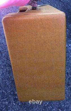 Vintage Tone Tweed Deluxe Style Guitar Amplificateur Standard Combo Speaker Cabinet