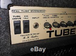 Vintage Tube Works Tube Pilote Td-752 Combo W ' Cool Carpet 12 100 Watts Haut-parleur