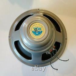 Vintage Vox 12 Speaker Celestion Argent T1088 60's Super Beatle Ac30 Ac50
