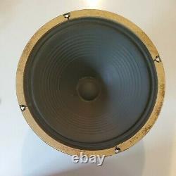 Vintage Vox 12 Speaker Celestion Argent T1088 60's Super Beatle Ac30 Ac50 Jmi