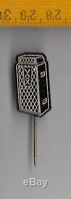 Vintage Vox Guitare Amplificateur Audio Haut-parleurs Bâton Badges Logo Pin 1960