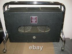 Vintage Vox Speaker Cabinet Berkeley II Empty Cabinet Des Années 1960