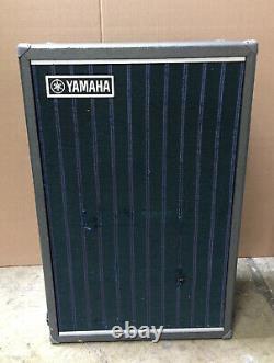 Vintage Yamaha Ra-50 Amp Avec Haut-parleur Rotatif Chorus Testé Noir