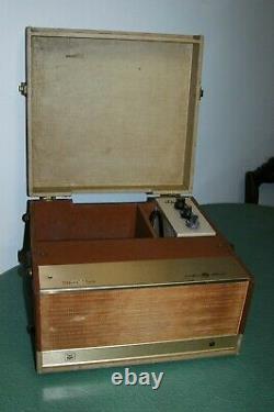 Voice Of Music 168 Tube Amplificateur/haut-parleur, Guitare, Harpe, Ipod, MIC Etc. Fonctionne! 6v6 (6v6)